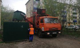 В Сызрани установили более 500 новых евроконтейнеров для сбораТБО
