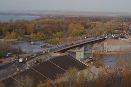 Движение по новому мосту через реку Сок планируют  открытьраньше